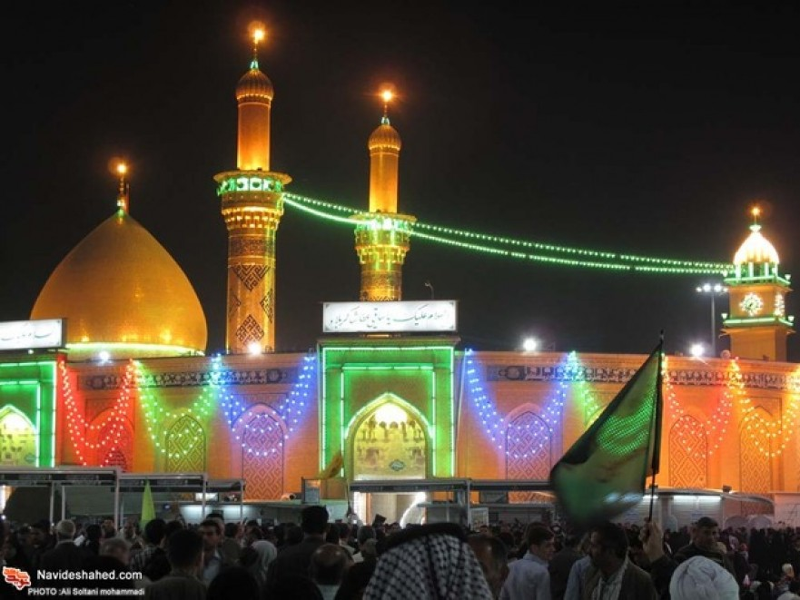 On the eve of Imam Hussain (AS) and Hazrat Abbas (AS) Birth Anniversary/ Photo