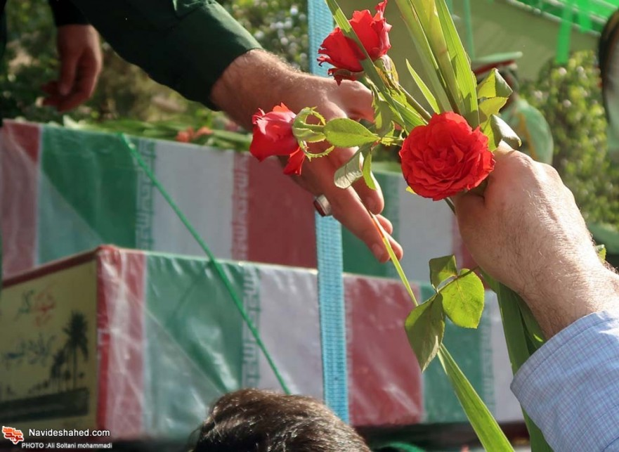 The Funeral Ceremony Of The Iran's Sacred Defense martyrs/ Photo